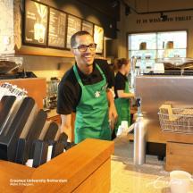 """""""I didn't like coffee, that's why I work at Starbucks"""""""